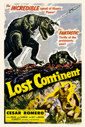 Lost Continent 1951 Movie Poster