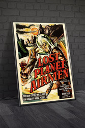 Lost Planet Airmen 1951 Movie Poster Framed