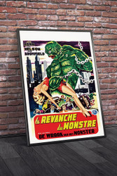 Revenge of The Creature 1955 Belgian Movie Poster Framed