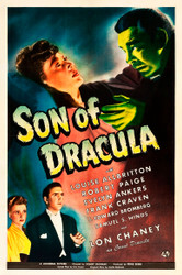 Son of Dracula 1943 Movie Poster