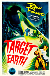Target Earth 1954 Movie Poster