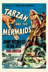 Tarzan And The Mermaids 1948 Movie Poster