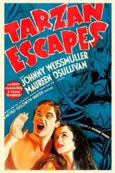 Tarzan Escapes 1936 Movie Poster