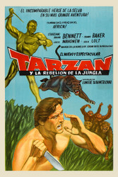 Tarzan 1960s Argentinean Movie Poster
