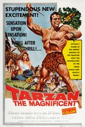 Tarzan The Magnificent 1960 Movie Poster