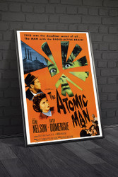 The Atomic Man Movie Poster Framed
