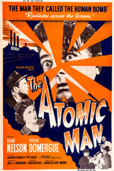 The Atomic Man 1956 Movie Poster