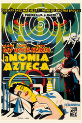The Aztec Mummy 1960s Mexican Movie Poster