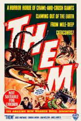 Them 1954 Australian Movie Poster