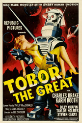 Tobor The Great 1954 Movie Poster