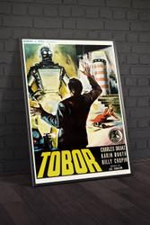 Tobor The Great 1954 Italian Movie Poster Framed