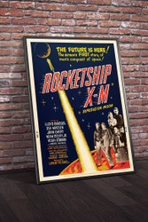 Rocketship XM 1950 III Movie Poster Framed