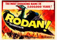 Rodan The Flying Monster 1957 British Quad Movie Poster