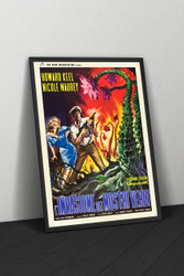 The Day of The Triffids 1963 Italian II Poster Framed