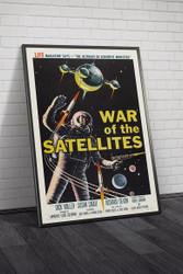 War of The Satellites 1958 Framed
