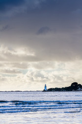Hells Gates Lighthouse (P) by Andrew Wilson Seascape Print