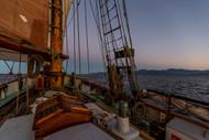 Sailing Into The Sunrise Andrew Wilson Seascape Print