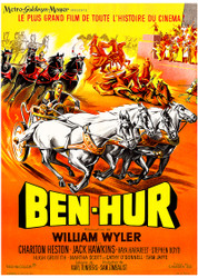 Ben Hur 1960 French Movie Poster