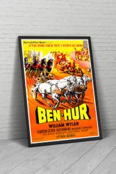 Ben Hur 1960 French Movie Poster Framed