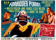 Forbidden Planet B Movie Poster