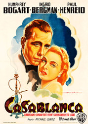 Casablanca 1948 Italian Movie Poster