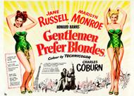 Gentlemen Prefer Blondes 1953 Movie Poster