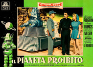 Forbidden Planet 1956 Italian Photobusta Movie Poster