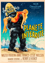 Forbidden Planet French Movie Poster