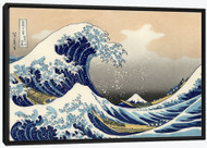 The Great Wave Offshore of Kanagawa Float Frame