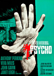 Psycho 1960 Movie Poster