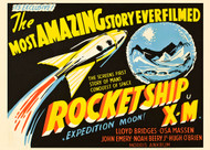 Rocketship X M 1950 British Movie Poster