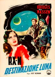 Rocketship X M 1950 Italian Ii Movie Poster