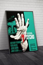 Psycho 1960 Movie Poster Framed