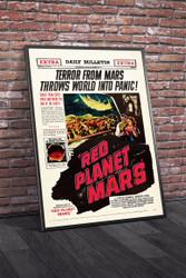 Red Planet Mars 1952 Movie Poster Framed