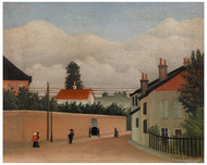 Henri Rousseau - Outskirts of Paris