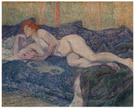 Henri de Toulouse Lautrec - Nude Lying on a Couch
