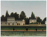 Henri Rousseau - Four Fishermen