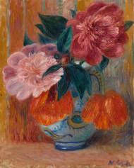 William James Glackens - Peonies in a Pitcher