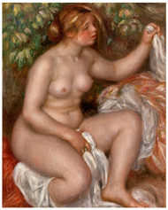 Pierre Auguste Renoir- After the Bath