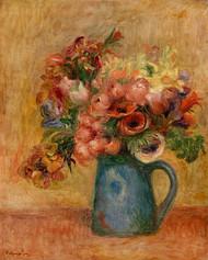 Pierre Auguste Renoir- Vase of Flowers
