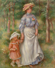 Pierre Auguste Renoir- Promenade