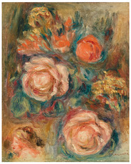 Pierre Auguste Renoir - Bouquet of Roses 1900