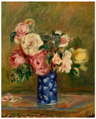 Pierre Auguste Renoir - Bouquet of Roses 1882