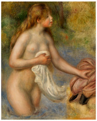 Pierre Auguste Renoir - Bather 1895