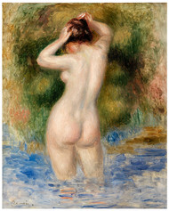 Pierre Auguste Renoir - Bather 1890