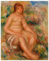 Pierre Auguste Renoir - Bather 1918
