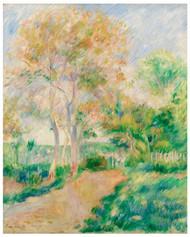 Pierre Auguste Renoir - Autumn Landscape