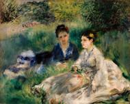 Pierre Auguste Renoir - On the Grass