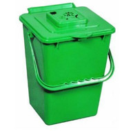 2.4 Gallon Kitchen Composter Compost Waste Collector Bin - Green E24GKCW1999