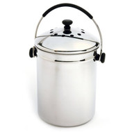 Stainless Steel Kitchen Compost Keeper Bin with Charcoal Filter NGEZSC3493